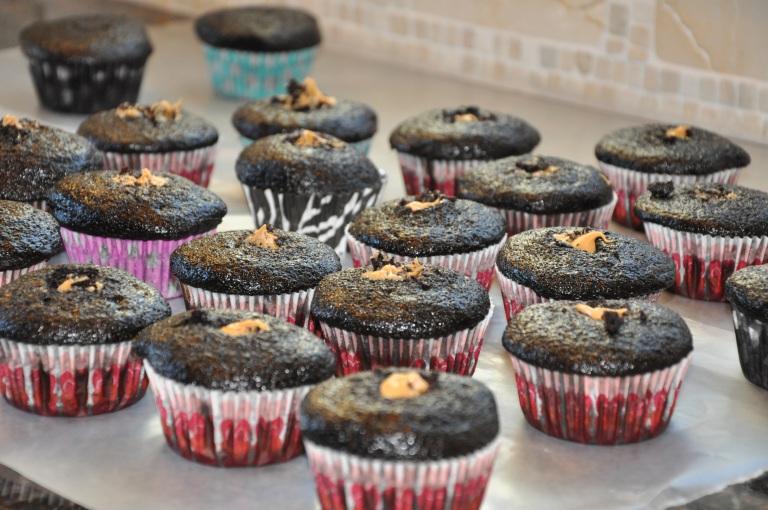 Stuffed cupcakes!