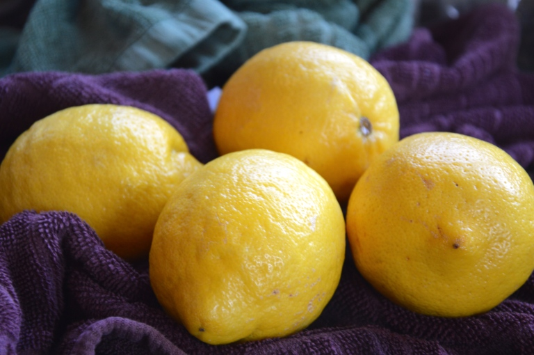 Always scrub your lemons with soap/hot water if you're going to zest!