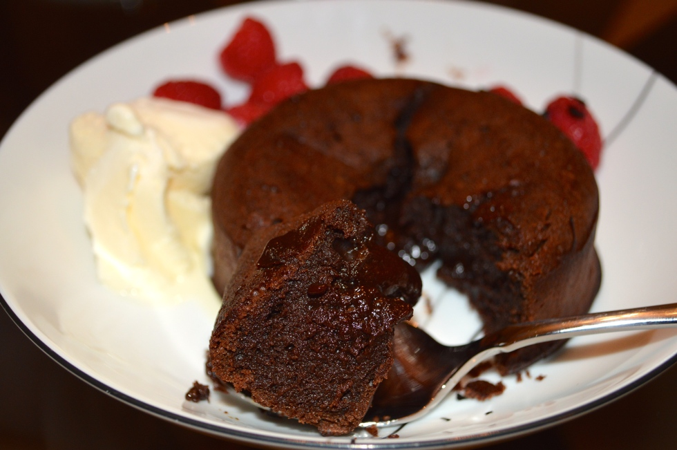 Traditional Lava Cake!
